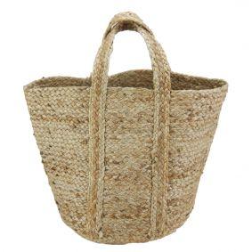 """Daya"" All Natural Medium Jute Bag"