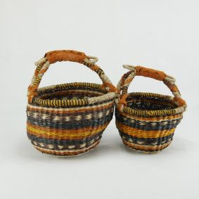 Round Baby Baskets Set of 2