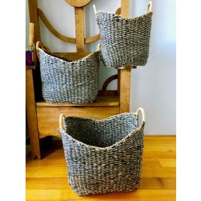 Seagrass Large Storage Baskets 3 Sizes