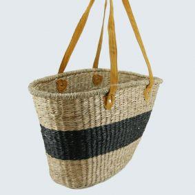 Long Handle Oval Market Basket