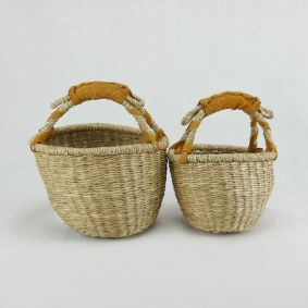 IN STOCK! Round Baby Baskets Set of 2