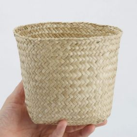 IN STOCK! Small Flat Seagrass Basket