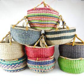 Medium Round Basket Sets of 6